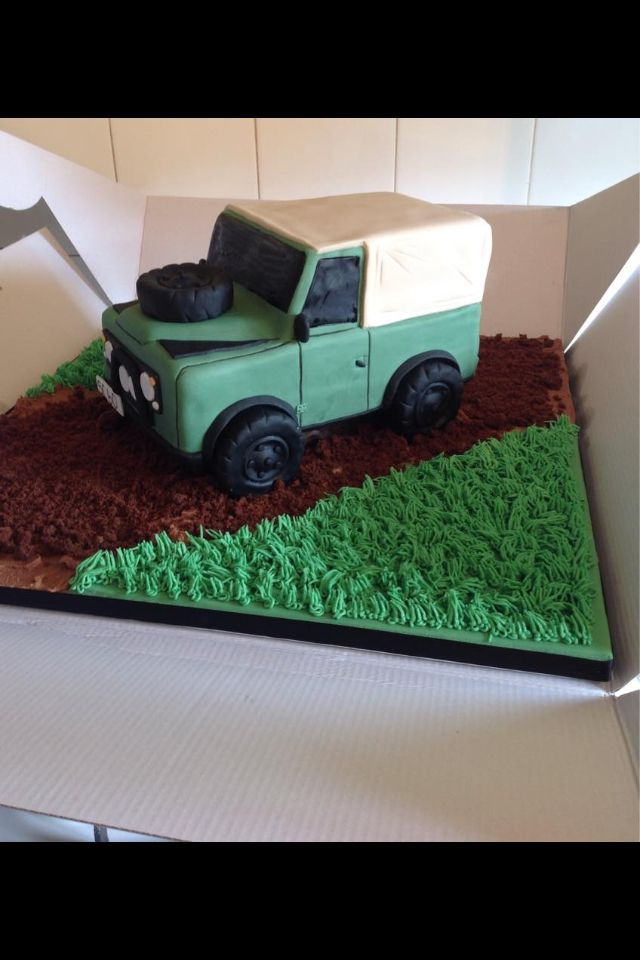 17 Best Images About Land Rover Cakes On Pinterest Car