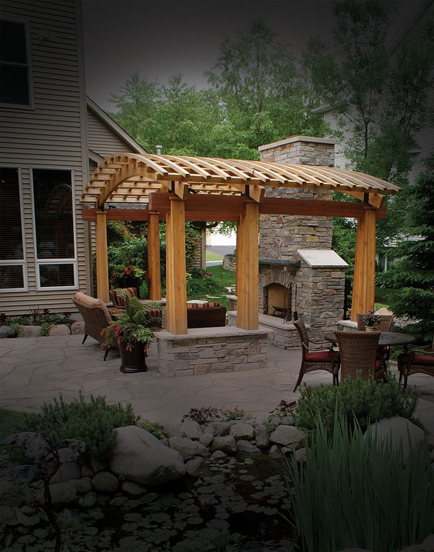 17 Best images about Pergola with Fireplace on Pinterest