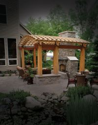 17 Best images about Pergola with Fireplace on Pinterest ...