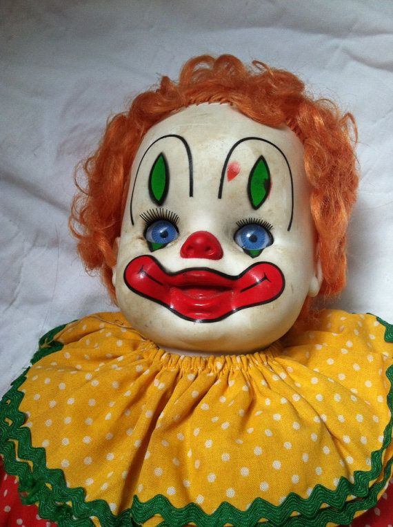 78 Best images about clown dolls on Pinterest Toys