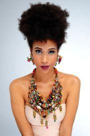 2389 afros earrings