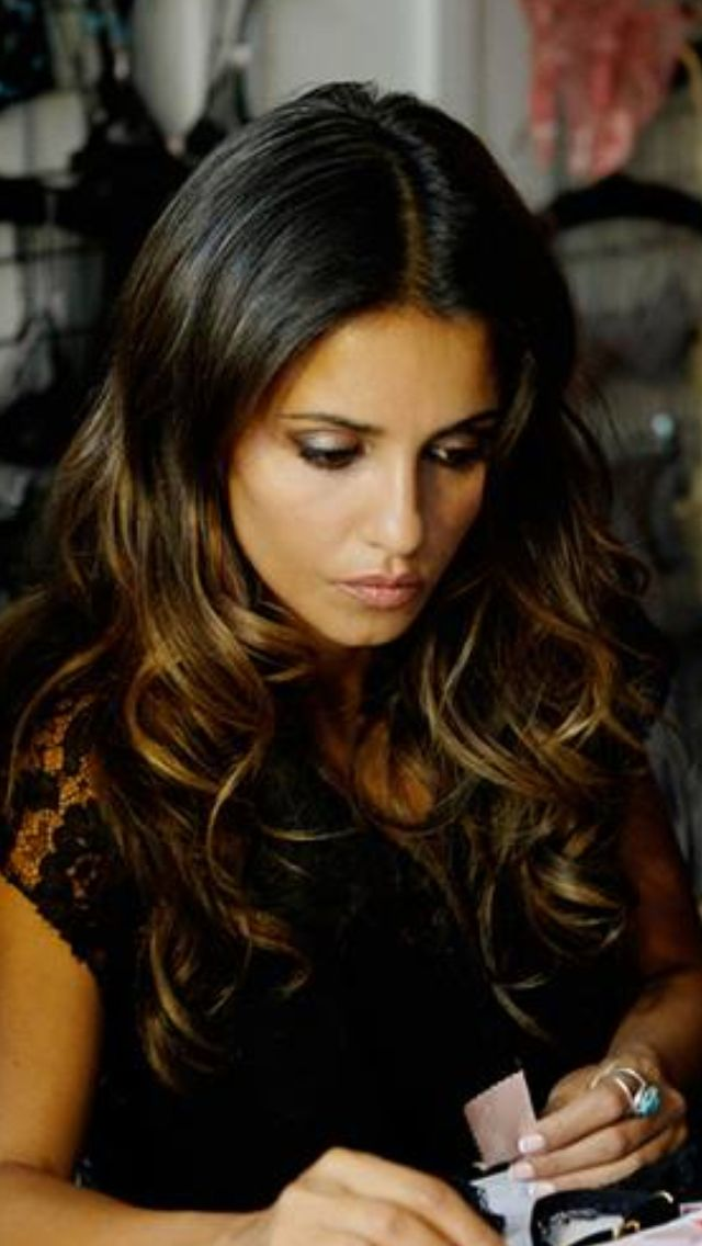 Monica Cruz Ombre Hair Pinterest Summer Highlights