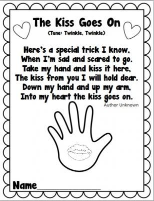 98 best images about The Kissing Hand Activities on