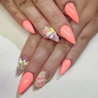 1000+ images about Colorful nails on Pinterest   Nail art ...