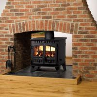 Double-sided WoodStove   Woodburners   Pinterest   Two ...