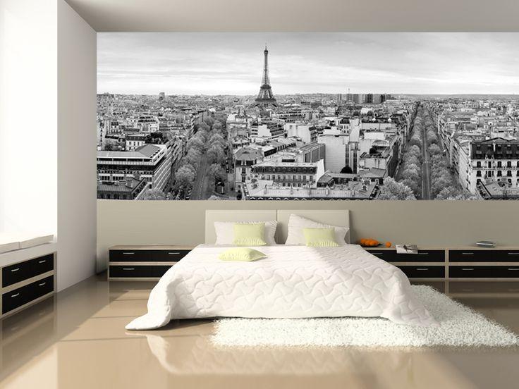 Panoramic View of Paris Wall Mural
