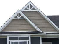Gable Accent Fypon GPF66X33 12/12 roof pitch $153.00 ...