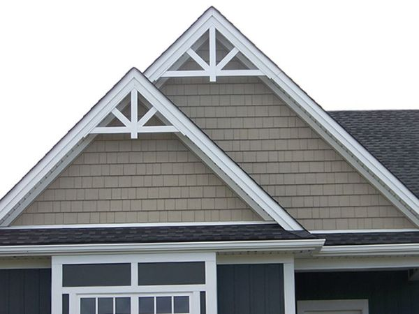 Gable Accent Fypon GPF66X33 1212 roof pitch 15300