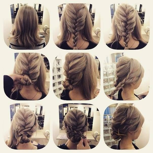 25 Best Ideas About Medium Hair Tutorials On Pinterest Easy