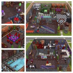 sims freeplay wizard houses floor plans magic wizards plan 5d uploaded user