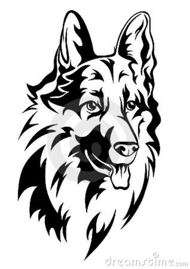 1000+ ideas about German Shepherd Tattoo on Pinterest