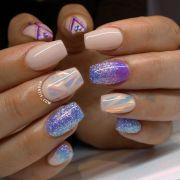 ideas plum nails