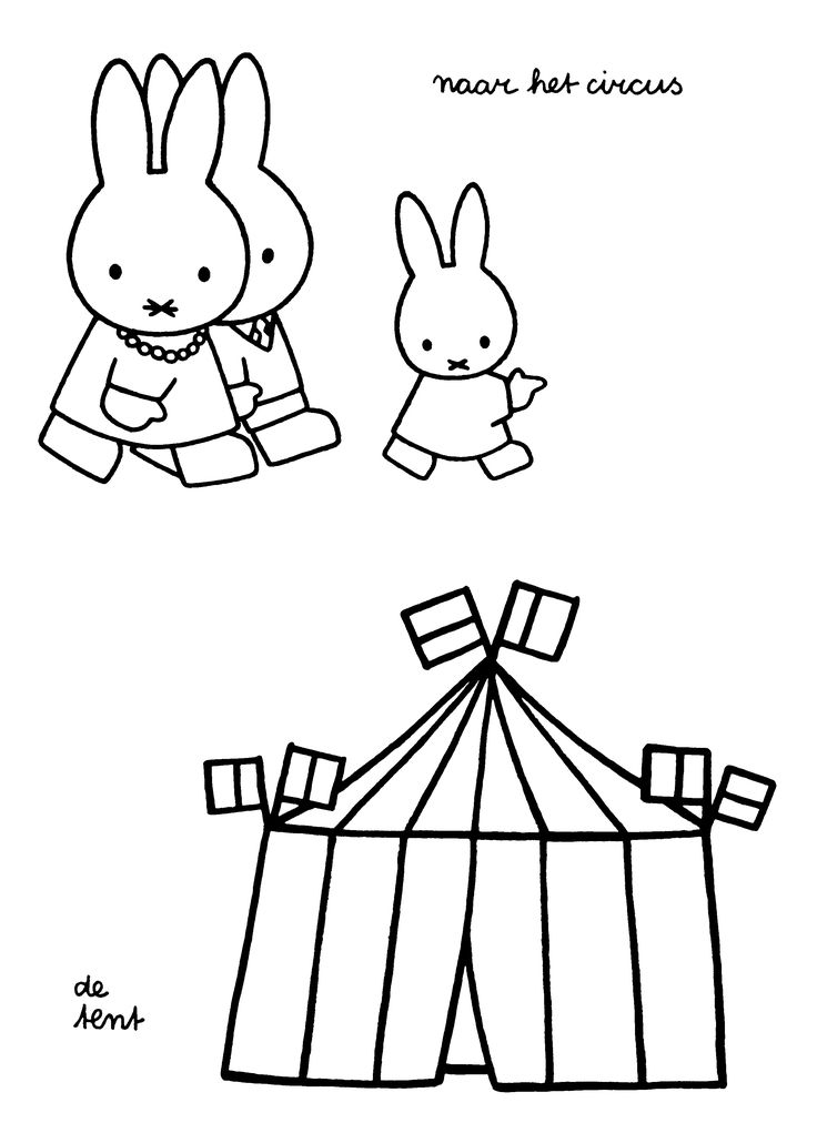 1000+ images about Circus kleurplaten on Pinterest