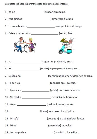Only best 25+ ideas about Spanish Exercises on Pinterest