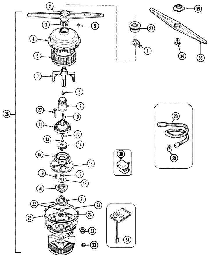 25+ best ideas about Maytag dishwasher parts on Pinterest