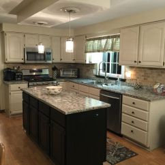 Kitchen Cabinet Makeover Kit How Much To Remodel My Makeover... Rust-oleum Transformation ...