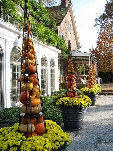 25 Best Ideas About Fall Containers On Pinterest Fall Container