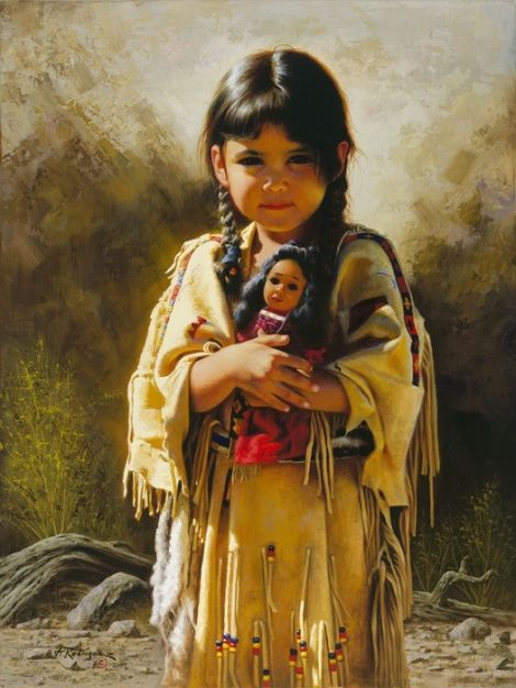 Native American Indian Paintings  Native American Beauty