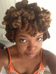double pipe cleaner curls styles