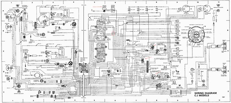 Jeep Cj7 Wiring Diagram: Wiring Diagram For 1983 Jeep Cj7 u2013 intergeorgia.info,Design