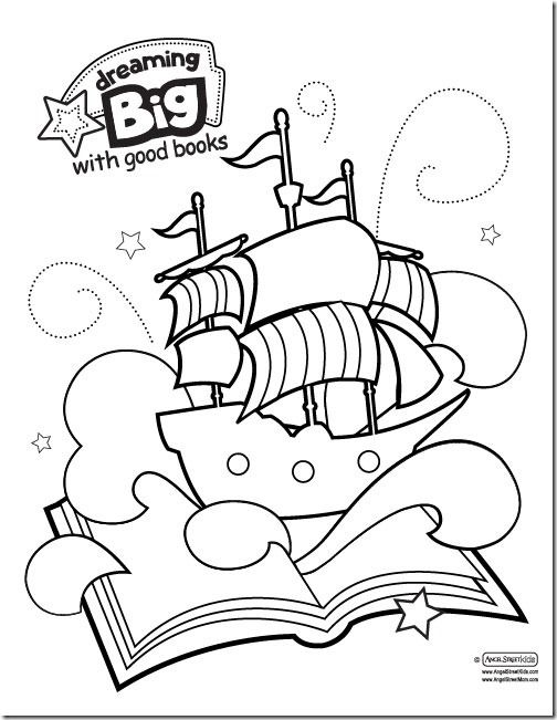 Dream Big printables for the American Library Associations