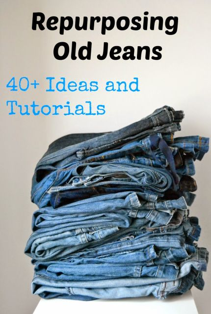 Repurposing Old Jeans: 40+ Ideas and Tutorials – Sara @ Made by Sara – Guest Post – Serger Pepper