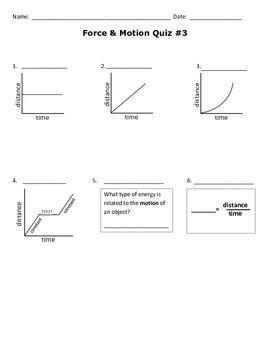 Interpreting Motion Graphs Worksheet Middle School