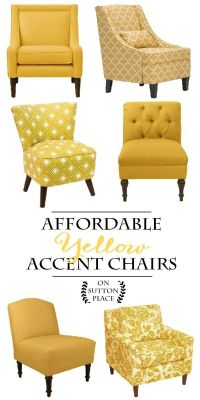 Top 25+ best Yellow Accent Chairs ideas on Pinterest ...
