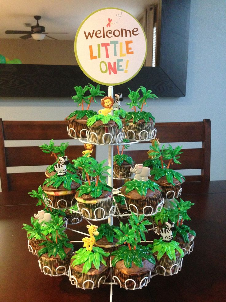 Lion King Themed Cupcakes Baby Shower Ideas Pinterest