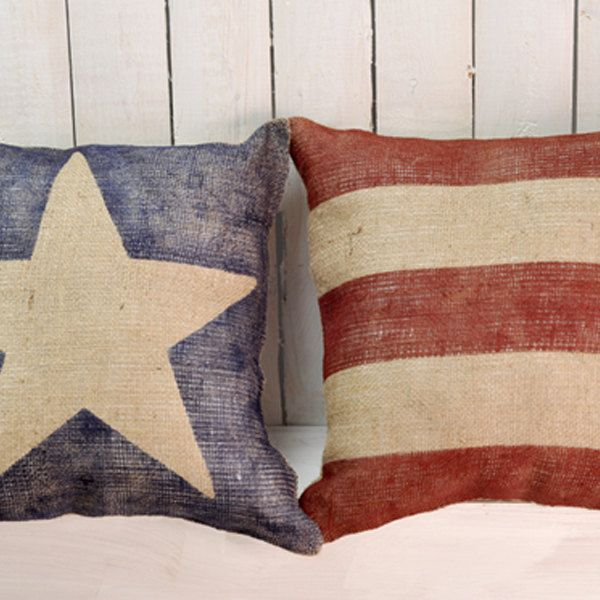 custom rocking chairs texas purple chair covers amazon american flag pillows burlap pillow set by nancyjeanhomegoods, $65.00 | home is where the heart ...