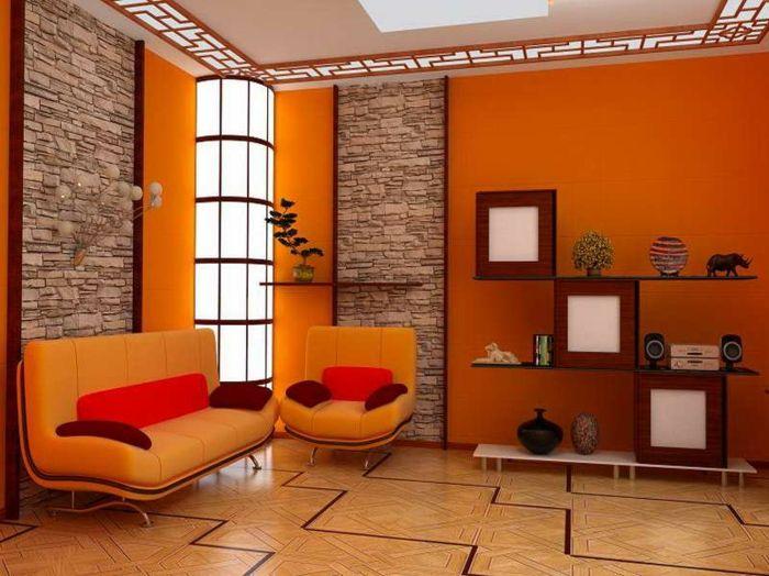 Die besten 25 Orange wohnzimmer Ideen auf Pinterest  grau orange Schlafzimmer Orange