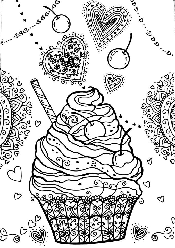160 best images about Food & Dishes to Color on Pinterest