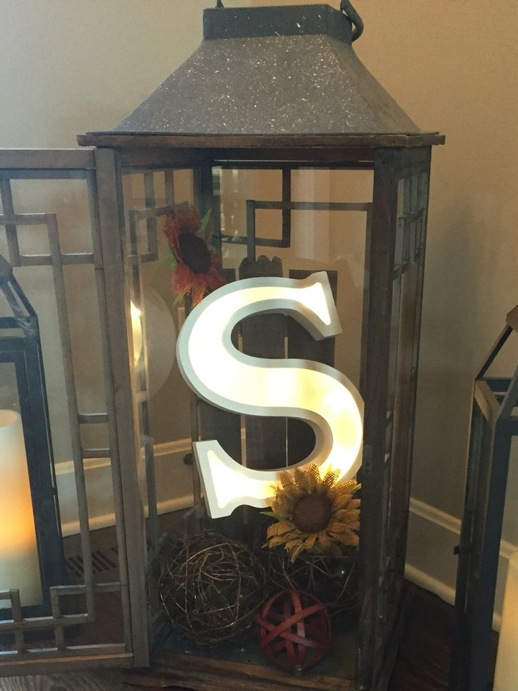 Large Lantern Decor  Large Lantern Decor  Pinterest
