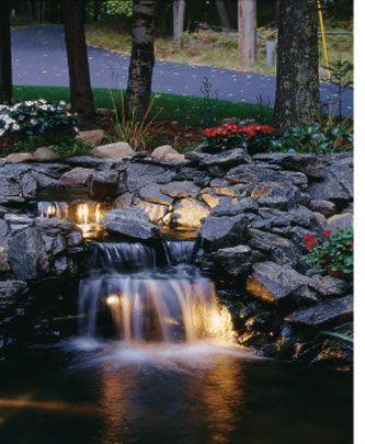 25 Best Ideas About Pond Lights On Pinterest Ponds Garden
