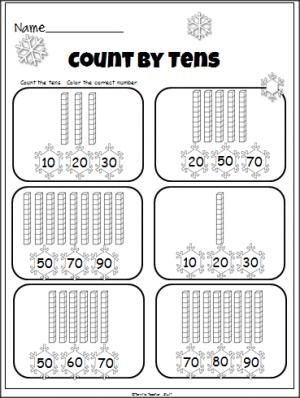Counting Number worksheets » Subtraction With Regrouping