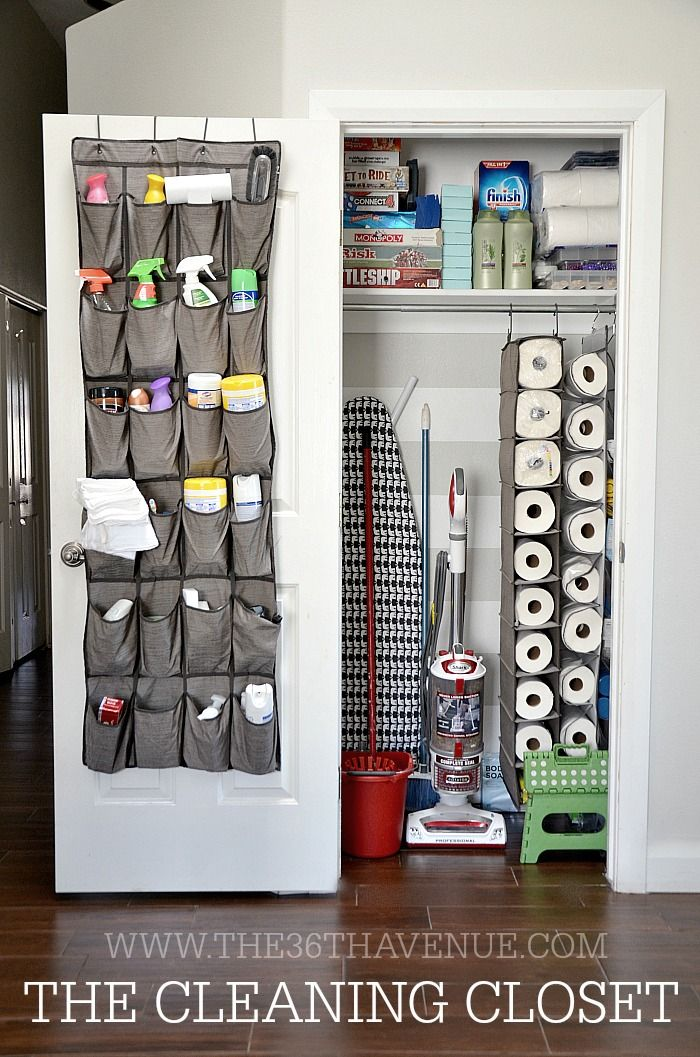25 best ideas about Cleaning closet on Pinterest  Laundry storage Cleaning supply storage and