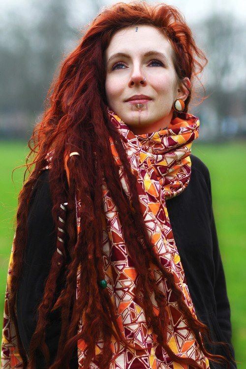 beautifulredhair  Style and Girly Things  Pinterest  Dreads Beautiful redhead and