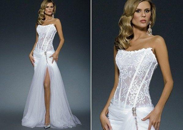 Top 25 Ideas About Corset Wedding Dresses On Pinterest