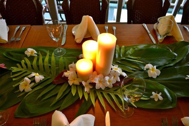 Hawaiian Reception Wedding Pinterest Runners Receptions And Kauai Wedding