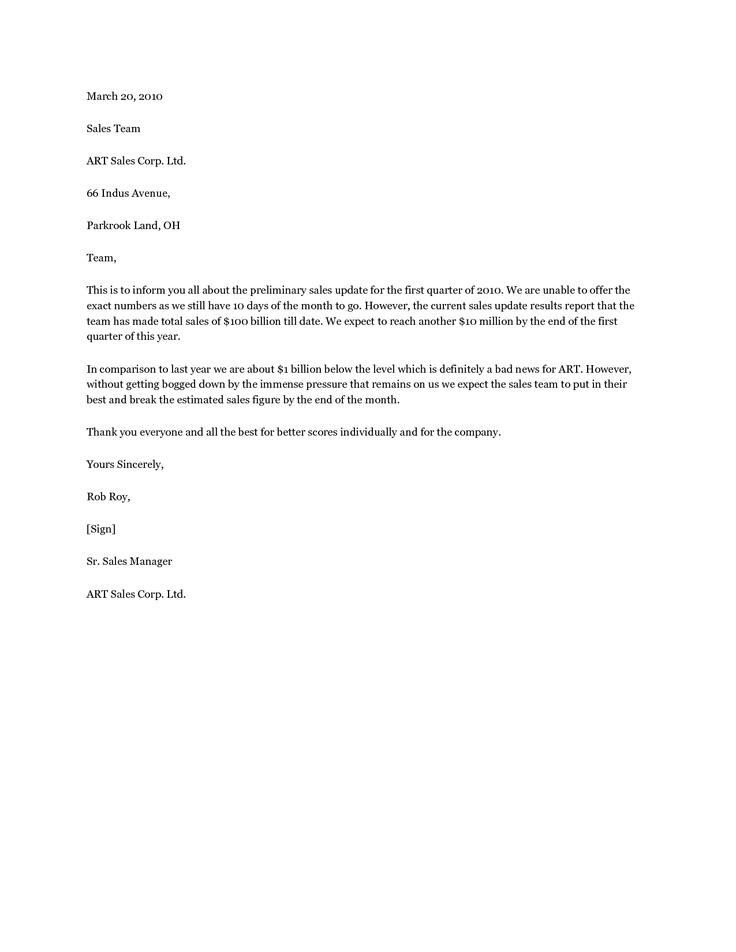 10 Best Images About Sales Letters On Pinterest A
