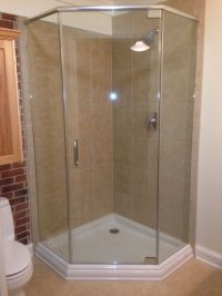78 Best images about corner shower for small bathroom on ...