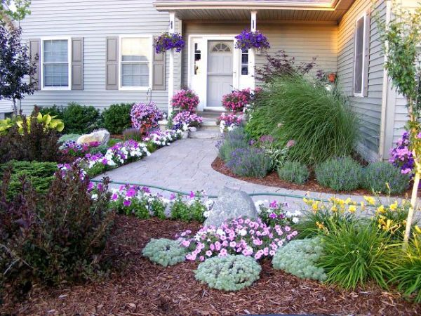 entryway landscaping ideas