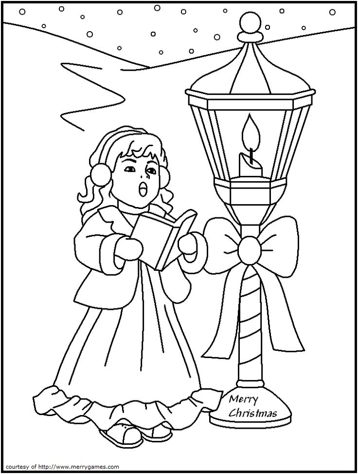 Advent Candle Coloring Page Coloring Pages