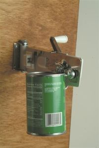 Wall-Mounted Can Opener   Can opener, 5 years and We
