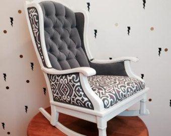 refurbished cane chair  THE ROCKER WONDER  Rocking