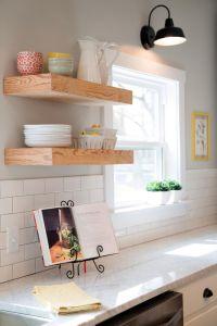 25+ best ideas about Floating shelves kitchen on Pinterest ...