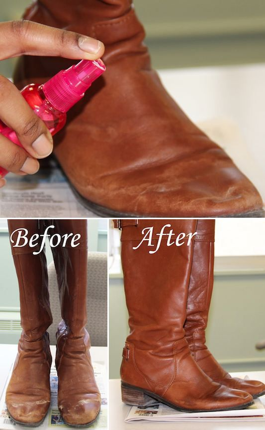 how to clean salt stains on boots