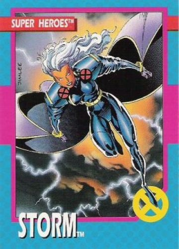 14 Storm X Men Series 1 Jim Lee 1992 Pinterest Storms