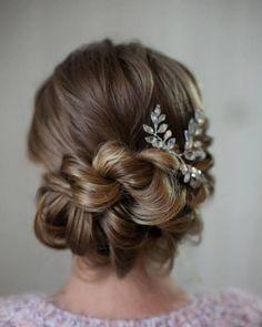 best 25 elegant wedding hair ideas on pinterest