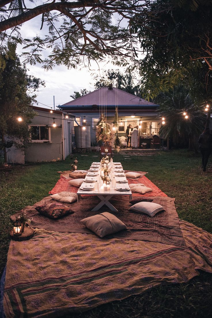 Bohemian Dinner Party Spell Designs SOIREE Pinterest The Gypsy Backyards And Backyard